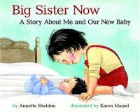 Big sister now : a story about me and our new baby