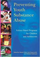 Preventing Youth Substance Abuse
