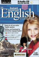 ESL Instant Immersion English as A Second Language