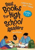 Best Books for High School Readers : Grades 9-12