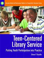 Teen-centered Library Service