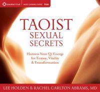 Taoist Sexual Secrets