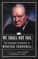 We Shall Not Fail