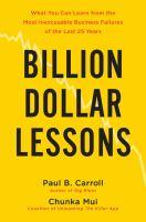 Billion Dollar Lessons