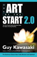 The Art of the Start 2 .0