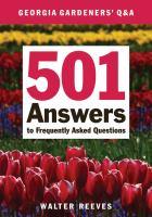 Georgia Gardeners' Q & A