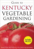 Guide to Kentucky Vegetable Gardening