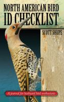North American Bird I.D. Checklist