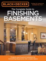 The Complete Guide to Finishing Basements