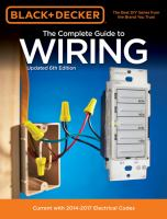 The Complete Guide to Wiring