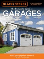 The Complete Guide to Garages