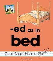 Ed as in Bed