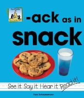 Ack as in Snack