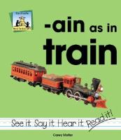 Ain as in Train