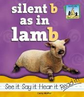 Silent B as in Lamb