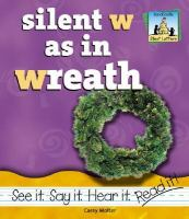 Silent W as in Wreath