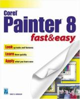 Corel Painter 8 Fast & Easy