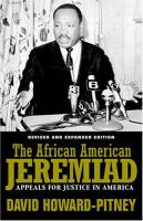 The African American Jeremiad