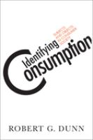 Identifying Consumption