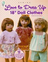 Love to Dress up 18'' Doll Clothes