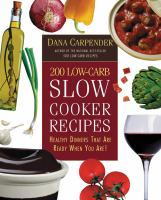 200 Low-carb Slow Cooker Recipes