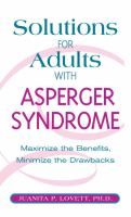Solutions for Adults With Asperger Syndrome