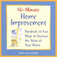 10-minute Home Improvements