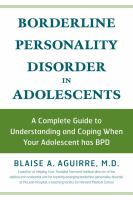Borderline Personality Disorder in Adolescence
