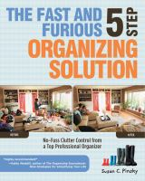 The Fast and Furious 5-step Organizing Solution