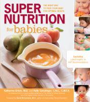 Super Nutrition for Babies