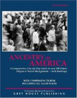 Ancestry in America