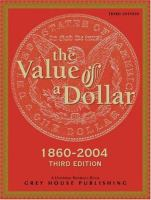 The Value of A Dollar