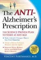 The Anti-Alzheimer's Prescription