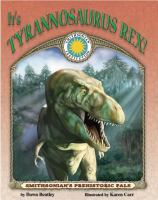 It's Tyrannosaurus Rex!