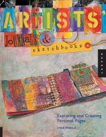 Artists, Journals, and Sketchbooks