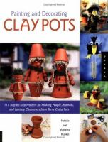 Painting and Decorating Clay Pots