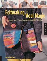 Feltmaking and Wool Magic