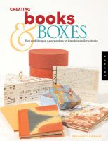 Creating Books & Boxes