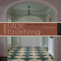 Designer Faux Finishing book cover