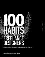 100 Habits of Successful Freelance Designers