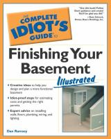 The Complete Idiot's Guide to Finishing your Basement Illustrated