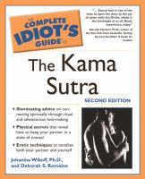 The Complete Idiot's Guide to the Kama Sutra