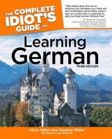 The Complete Idiot's Guide to Learning German