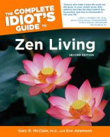 Complete Idiot's Guide to Zen Living