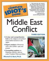 The Complete Idiot's Guide to Middle East Conflict