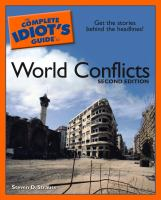 The Complete Idiot's Guide To World Conflicts