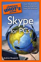 The Complete Idiot's Guide to Skype