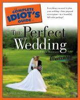 The Complete Idiot's Guide to the Perfect Wedding, Illustrated