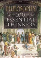Philosophy, 100 Essential Thinkers