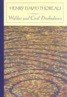 Walden ; And, Civil Disobedience